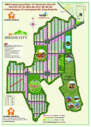 JB Serene City Location Plan