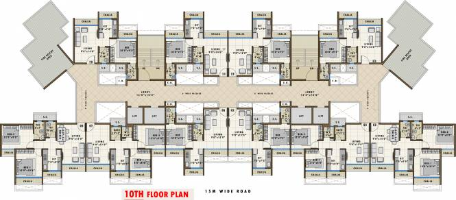 Aastha River View Cluster Plan