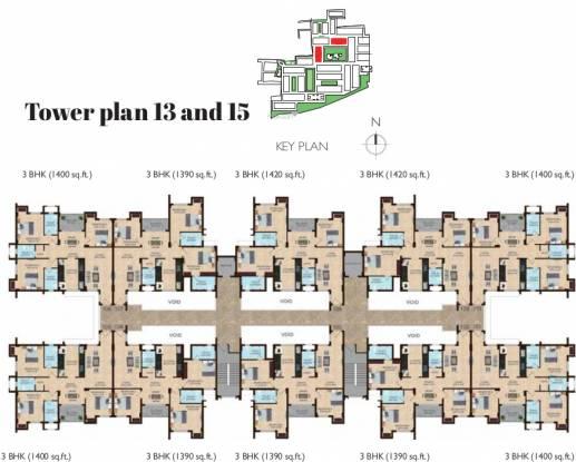 Shriram Joy at Shriram Temple Bells Cluster Plan