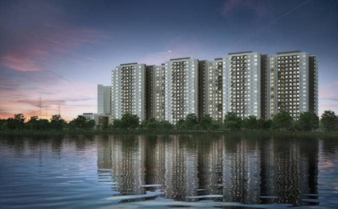 Sobha Lake Garden Elevation