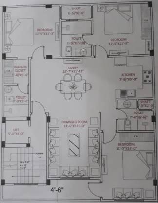 Images for Cluster Plan of B M Aggarrwal Home