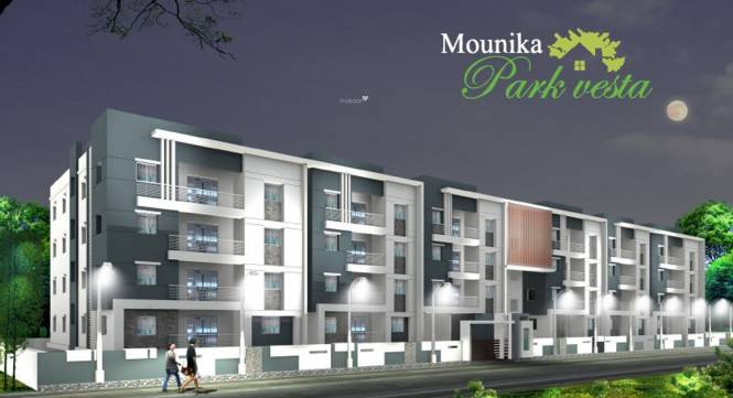 Sai Mounika Park Vesta Elevation