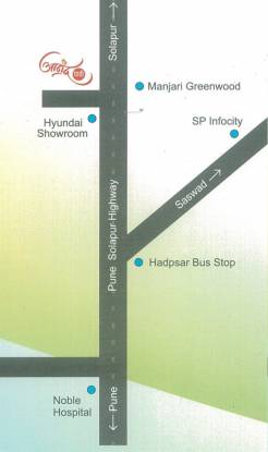 Yash Anand Park Location Plan