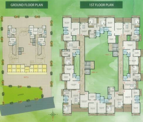 Shree Samarth Residency Cluster Plan