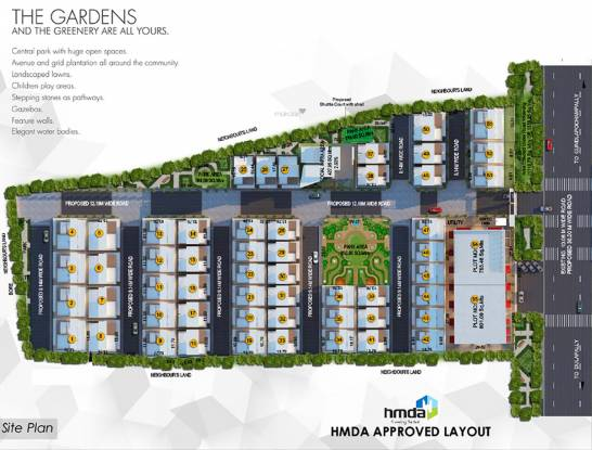Myron Integrity Homes Site Plan