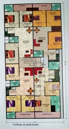 KM Apartments Cluster Plan