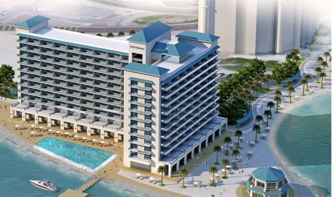Nakheel Azure Residence Elevation