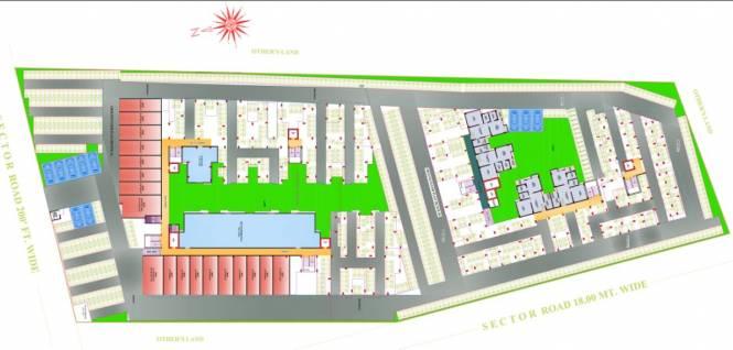Elegant Vaishali Utsav Cluster Plan