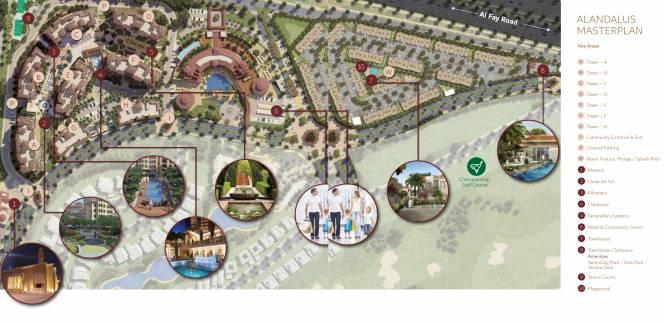 Jumeirah Alandalus Master Plan