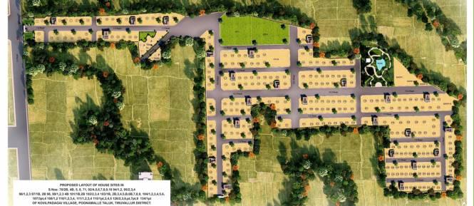 MCB Platinum City Layout Plan