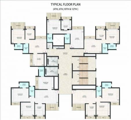 Gami Vivaan Cluster Plan