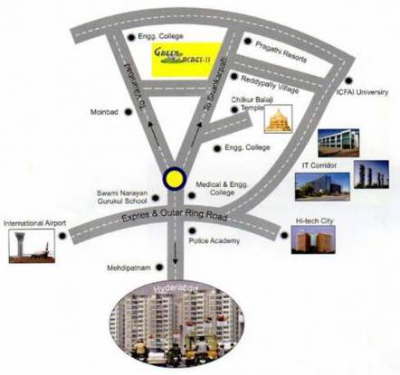 Green Home Farms And Resorts Green Acres 3 Phase III Location Plan