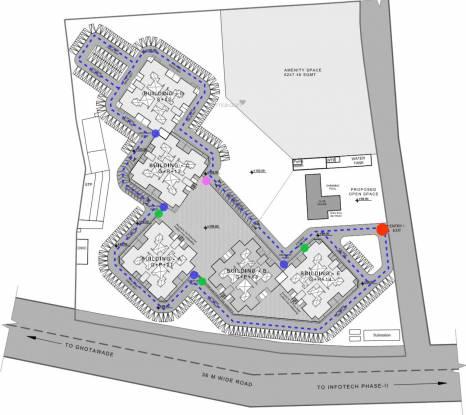 Kohinoor Tinsel Town Phase II Layout Plan