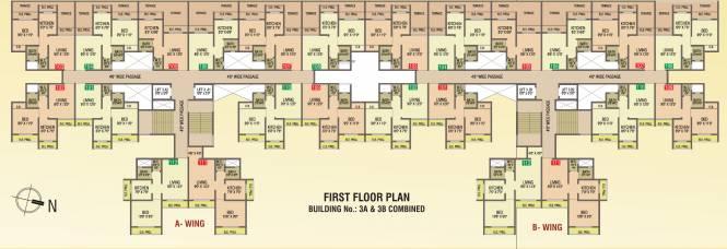 Sun Paramount Enclave Cluster Plan