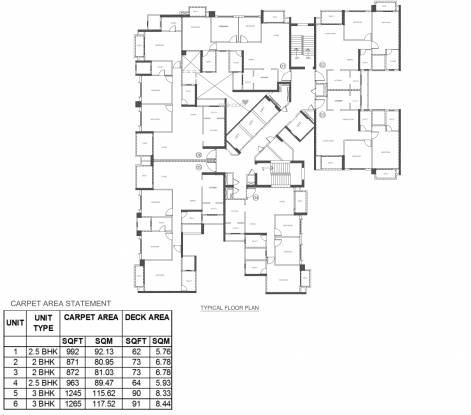 Hiranandani Evita Cluster Plan