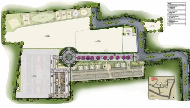 XS Real Catalunya City Flamenco Site Plan