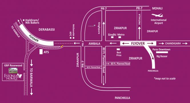 Estonia Homez Location Plan