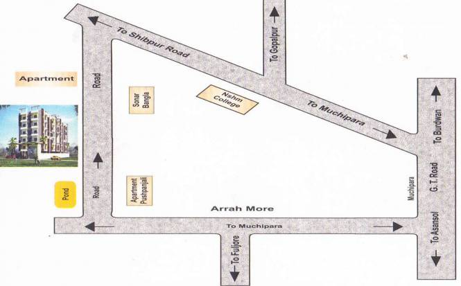 Shree Triveni Sapphire Location Plan