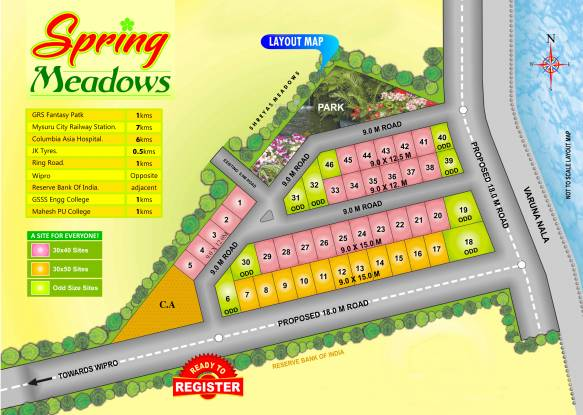 Rai Spring Meadows Layout Plan