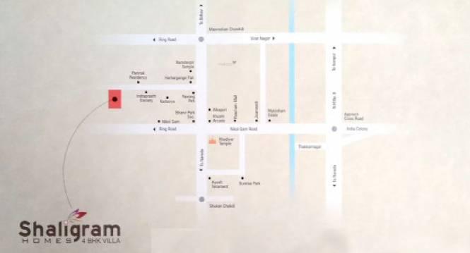 Summer Shaligram Homes Location Plan