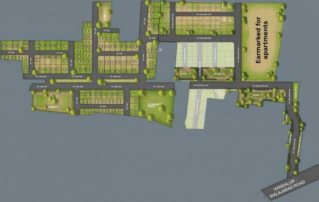TVS Emerald Flourish Apartment Layout Plan