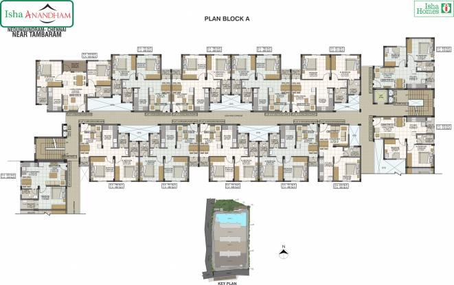 Isha Anandham Cluster Plan