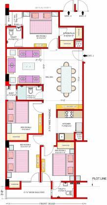 JMV Homes Cluster Plan