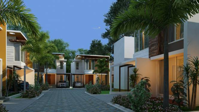 IndusGratia Green Rich Villas Elevation