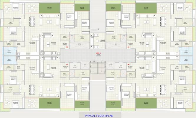 Kalash Imperial Skyz Cluster Plan