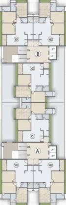 R Sheladia Palladian Cluster Plan