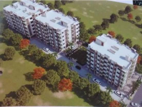 Dhaneshwari Saharsh Residency Phase II C And D Block Elevation