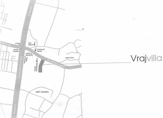 Prakash Vraj Villa Location Plan