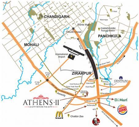 GBP Athens II Location Plan