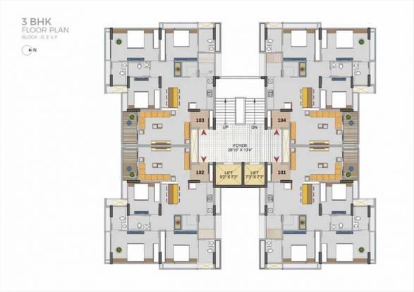 Aahna Shilp Shaligram Cluster Plan