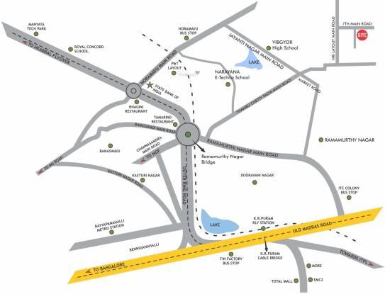 DLR Pride Location Plan