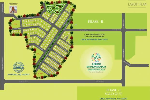 Ashok Ashok Brindavanam Layout Plan