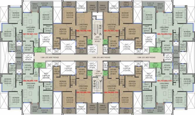 Vivanta Life Vedika Phase 1 Cluster Plan