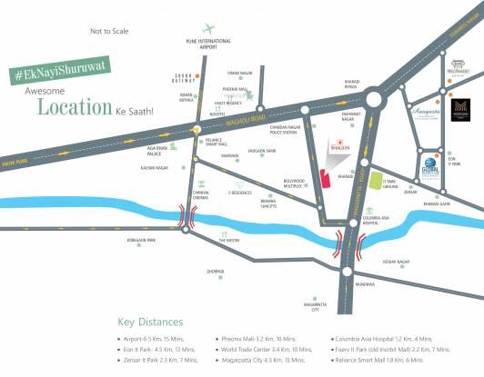Shubh Shagun Location Plan