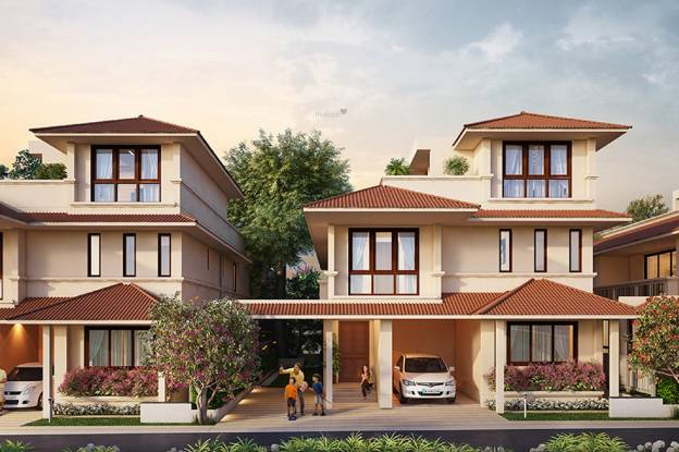 Adarsh Tranqville Elevation