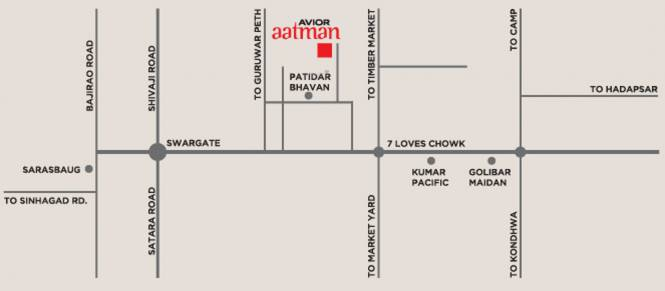 Avior Aatman Phase II Location Plan