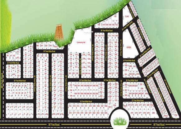 Saar Eta Saar City Layout Plan