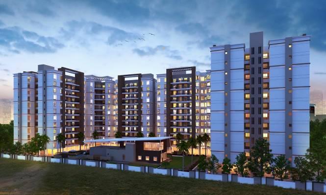 Krishna Aeropolis Phase III Elevation