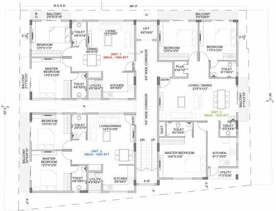 Unity Silver Oak Cluster Plan