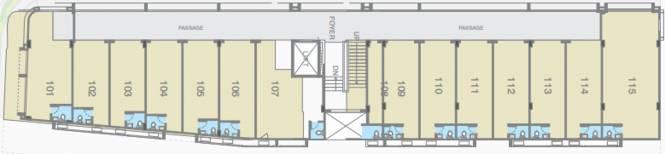Gala Hub ANX Cluster Plan