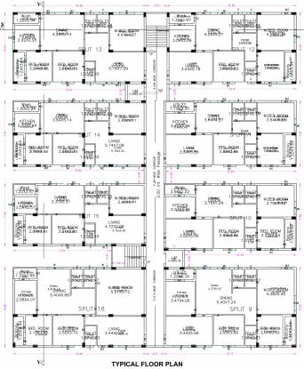 Jubilee Temple Tree Cluster Plan