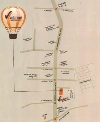 Vaibhav Industrial Estate Location Plan