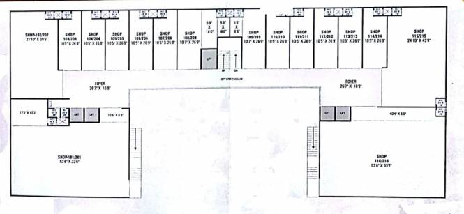 Om Sahitya Business park Cluster Plan