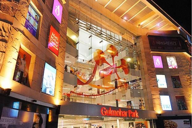 Navratna Gulmohar Park Mall Elevation