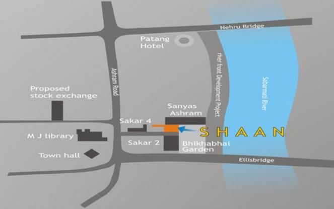 Santosh Shaan Location Plan