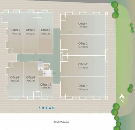 Santosh Shaan Site Plan